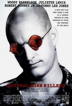 Natural Born Killers - Quinten Tarantino film loosely inspired by the the true story of the young Nebraska couple Charles Starkweather and Caril Fugate, who committed mass murder across the Midwest USA in 1958