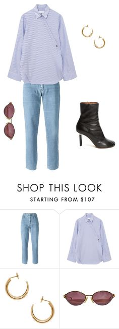 """""""Untitled #28"""" by brontelindley ❤ liked on Polyvore featuring Moschino, Maison Margiela, Christian Dior and Vetements"""