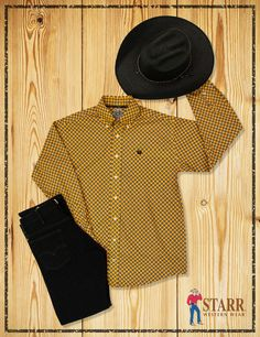 a2b988b1cfc A cowboy hat designed for the modern cowboy. Get stylish with this great  outfit!