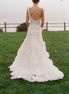 wedding gown / photo by Elizabeth Messina