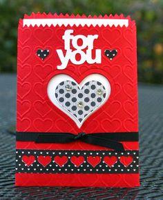 Krystal's Cards: Groovy Love Treat Bag