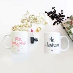 MR. & MRS. COFFEE MUG SET by Ashley Brooke Designs