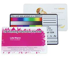Business Card Printing Services in Singapore.