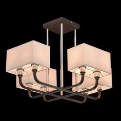Megapolis 8 Light Candle-Style Chandelier
