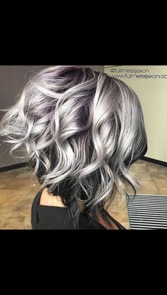 This is how I wanna go grey