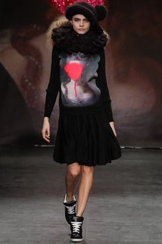 well obviously I loved Sister by Sibling Autumn / Winter 2013 - anything with Cara Delavigne is a winner with me