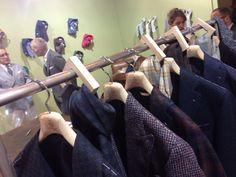 #pittiuomo2015 Errico Formicola Napoli Italian man's style and TsuMisura hangers