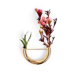 "Gefällt 1,171 Mal, 28 Kommentare - Погремухи (@pogremuhi) auf Instagram: ""Botanical Brooch. 18K gold plated Bronze. Lady Gray / Ботаническая брошь. Позолоченная бронза,…"""