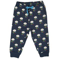Buy Frugi Baby Cloud Benjamin Trousers, Navy Online at johnlewis.com