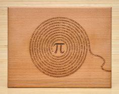 PI grabado tablero de corte tabla de cortar por TheWoodILike