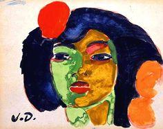 Dongen, Kees van (Dutch, French, 1877-1968) - La Gitane - 1905-07 (by *Huismus)