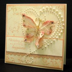 Wishing You - Crooked Card Creations blog wow what a lovely wedding card! absolutely want to make one or two!