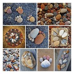 stone footsteps | Natural Stone Decor Ideas
