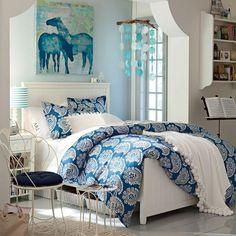 Girls blue bedroom ideas blue rooms for girls wall decor for teenage girl room pink bedroom . Teenage Girl Bedroom Designs, Girls Room Design, Teenage Girl Bedrooms, Small Room Design, Girl Rooms, Design Bedroom, Preteen Girls Rooms, Tween Girls, Blue Bedroom Decor