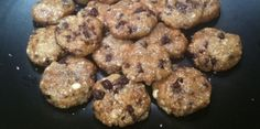 """No Bake Chocolate Chip Cookies...these are loaded with taste without all the """"bad"""" stuff!  I LOVE these cookies...so easy to make!  Enjoy!"""