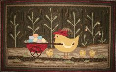 """""""Poultry Pickings"""" - pattern"""
