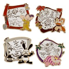 Disney Animation Limited Edition Pin Set | Disney Store