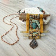 Art jewelry, amazing colors