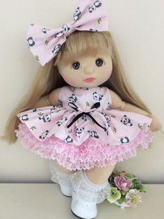 PINK PANDAS BABY HITCH DRESS SET TO FIT MY CHILD DOLL | eBay