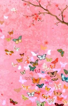 Aly's daddy told her when a butterfly lands on you it's a kiss from God. Must have for her future big girl bedroom!