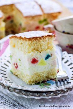 Kiwi, Vanilla Cake, Vanilla Sponge Cake