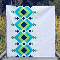 I was never going to enter a quilt into the QuiltCon show, but after winning first place on this one in our recent quilt show, I figured I'd give it a shot. What would it hurt, right? Quilting Projects, Sewing Projects, Quilting Ideas, Quilting Patterns, Modern Quilt Patterns, Modern Quilting Designs, Quilt Modern, Quilt Designs, Southwest Quilts