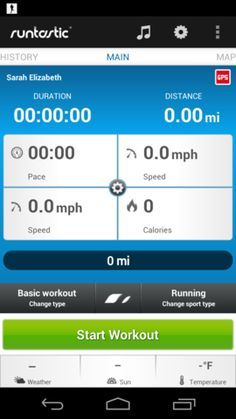 best gps running app for iphone 4