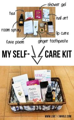 Don't you sometimes wish you had an emergency first-aid kit, only for your emotions? Learn to make an epic self-care kit to help you feel safe and uplifted, and help you not turn to food when you're upset.