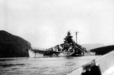 Kreigsmarine German Battleship Tirpitz