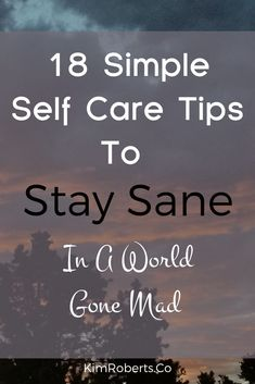Sometimes it feels like staying sane is a full-time job! Anytime we look for answers outside in the phenomenal world, we turn away from our inner wisdom. Sanity can be found by sitting still, getting silent and then learning to listen to the messages that arise. Just like in any close relationship, we have to nurture our connection with sanity.  Follow these 18 simple self care tips to stay sane. | Guided Relaxation, Guided Meditation, Anxiety Coping Skills, Stay Sane, Mindfulness Activities, Improve Mental Health, Ways To Relax, Self Care Routine, Anxiety Relief