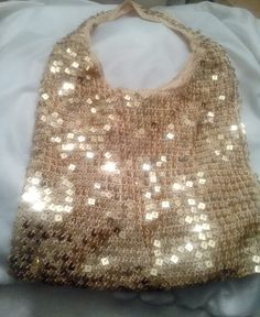 Check out this item in my Etsy shop https://www.etsy.com/listing/200639599/fancy-fun-gold-sequins-slouch-bag