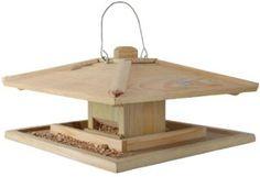 Soldes – Esschert Design – Mangeoire pour oiseaux, bois FSC