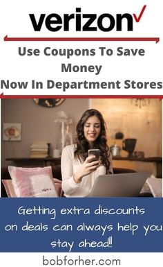 Famous department stores like Verizon have become a haven for getting all of the items you need in one place. Department stores are a perfect place for electronics, clothing, shoes, accessories, office supplies, etc. Since we often buy items from a department store, it's worth knowing how to save money when shopping.  #sales #couponing #coupons #verizon #savemoney #savings #discount Money Now, Earn More Money, Make Money Online, How To Make Money, How To Become, Money Tips, Money Saving Tips, Budgeting Money, Department Store