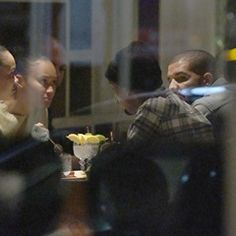 EXCLUSIVE Drake seen in heated discussion at Londons Novikov Restaurant