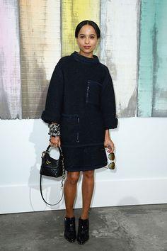 Zoe Kravitz in Chanel