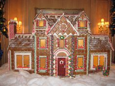 Gingerbread House at the Ritz Carlton, Cleveland, OH