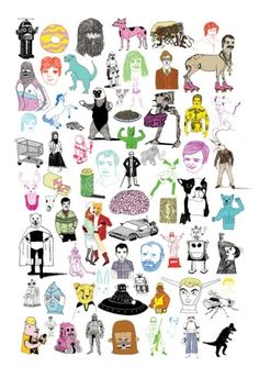 Characters Page by Rich Fairhead | Society6