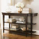 Like the 3 shelves & the length.  Kensington Place Blakeney Console Table