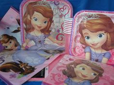 Disney Sofia the first birthday party supplies