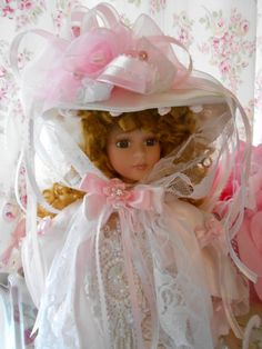 Hey, I found this really awesome Etsy listing at https://www.etsy.com/listing/115664209/bella-pink-victorian-doll-marie