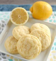Soft Baked Lemon Cookies