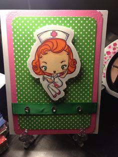 Nurse Card by HoneyBallende on Etsy, $4.50