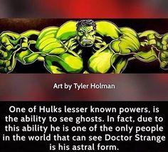 Interesting hulk fact