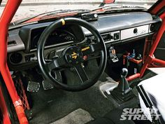 Check out this months old-school featured 1981 Toyota Starlet with an F22C engine transplant from a Honda S2000. The engine isn't the only S2K inspired technology in this classic import. - Wish Upon A Starlet- Back In The Day - Super Street Magazine