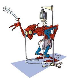 Old Spiderman . . . Wow .