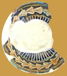 İznik Milet ware, dish, red clay, 30 cm, 15th century, İstanbul Archeology Museum  (Erdinç Bakla archive)