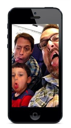 Make a silly or sentimental video for Father's Day using the easy OneDay video editing app | CoolMomTech.com
