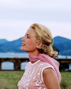 """sendinthebasterds: """" Grace Kelly in To Catch a Thief (1955) """""""