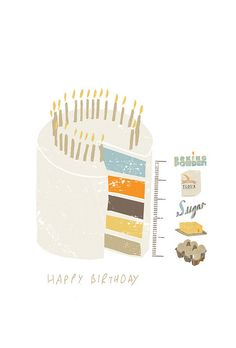 Birthday cake illustration cards 36 New Ideas Happy 5th Birthday, Cool Birthday Cakes, Birthday Nails, Birthday Diy, Happy Birthday Wishes, Birthday Quotes, Birthday Greetings, Birthday Parties, Birthday Recipes