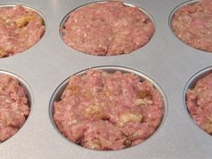 Mini-Meatloaf... made in muffin tins for individual serving sizes and ease of freezing.  Defrost only what you need.  Great for nights when it's impossible to all sit down together.